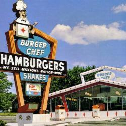 Burger King on Tallmadge Circle 1968