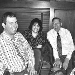 Kyle Kleverr, Jen and Jack Cochran